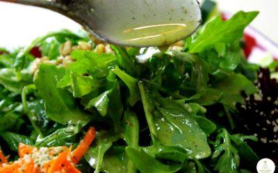 Arugula Cucumber Avocado Spring Salad