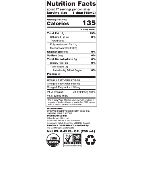oil label