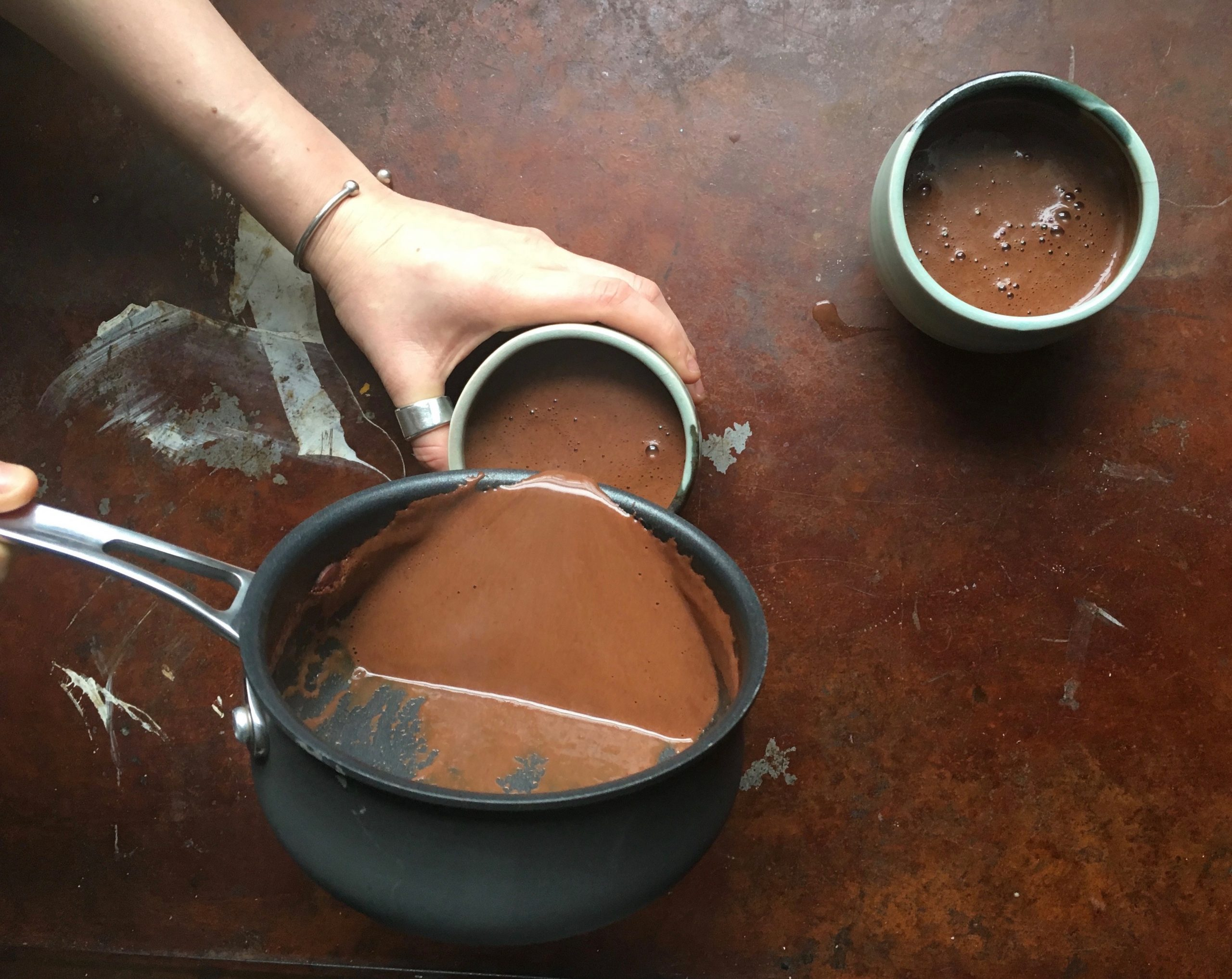 pouring sacred cacao scaled