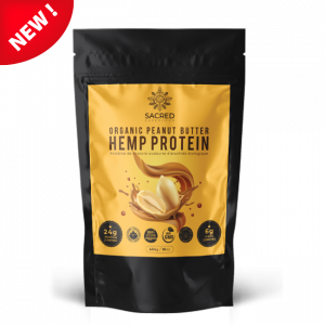 Organic Peanut Butter Hemp Protein new